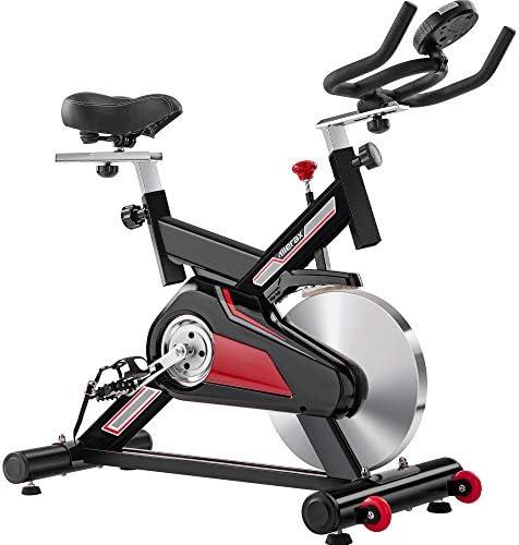 Merax Indoor Cycling Exercise Bike 30 LB Flywheel Cycle Trainer Adjustable Stationary Bike