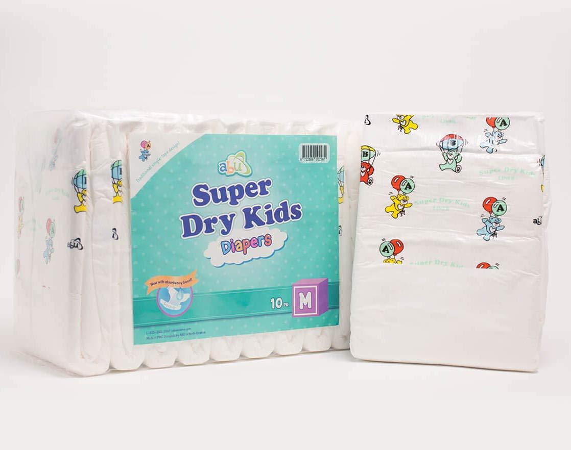 ABU SDK Diapers - Pack of 10 (Medium)