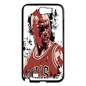 Custom High Quality WUCHAOGUI Phone case Super Star Michael Jordan Protective Case For Samsung Galaxy Note 2 Case - Case-3