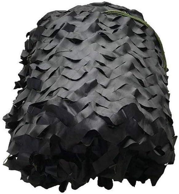 2 x 3 m迷彩日焼け止めネット - オックスフォード布シェードテント、写真装飾ガーデン隠しキャンプ軍、複数、黒、キャンプシェルター (Size : 10m×20m)  10m×20m