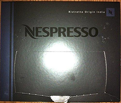 Nespresso NKRZoR Ristretto Origin India Coffee Cartridges Pro NEW, 50 Count (2 Units)