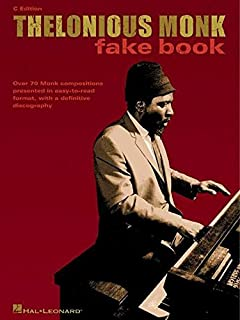 The best of thelonious monk piano transcriptions artist thelonious monk fake book c edition fake books fandeluxe Gallery