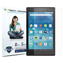 Tech Armor Amazon Kindle Fire HD Screen Protector, Anti-Glare Matte Film for Kindle Fire HD 8″ (2015/2016/2017) [2-Pack]