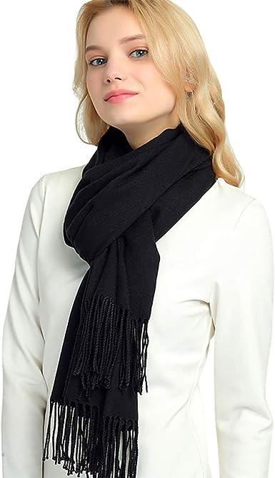 Cashmere Winter Scarf Women Warm Thick Pashmina Wraps Lady Soft Blanked Scarfs