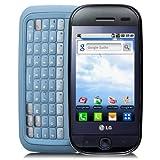LG GW620 ETNA Unlocked Cell Phone with 5MP Camera, Touchscreen,Wi-Fi, gps navigation, 3G--International Version No Warranty (Black/Blue)