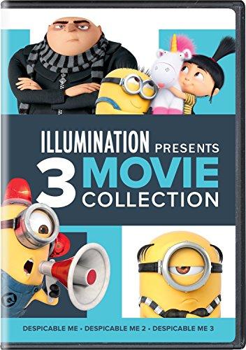 Illumination Presents: 3-Movie Collection (Despicable Me / Despicable Me 2 / Despicable Me 3) (Dvd 3 Movies)