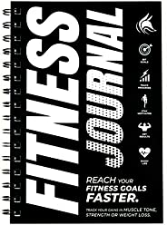 Clever Fox Fitness & Workout Journal/Planner Daily Exercise Log Book to Track Your Lifts, Cardio, Body Wei
