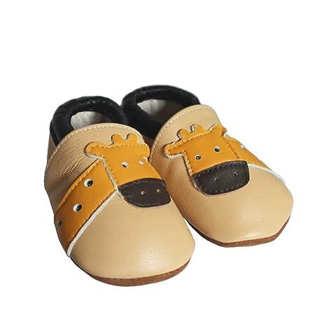 a5fe74739ddd2 Vesi-Chaussures Bébé Cuir Souple Chaussons Premiers Pas Respirant .