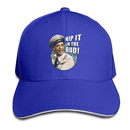 Doris Barney Fife Nip It In The Bud.png Sports Sandwich Cap RoyalBlue