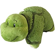 """Turtle Zoopurr Pets 2-in-1 Stuffed Animal and Pillow Large 19"""" with Embroidered Eyes"""