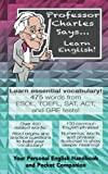 img - for Professor Charles Says... Learn English! book / textbook / text book