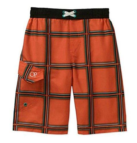 ocean-pacific-simpleton-orange-plaid-graphic-swim-trunks-small