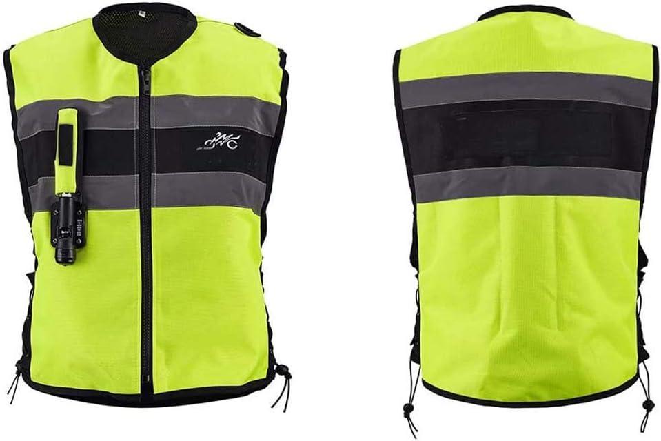 Airbag De Motocicleta Bicicleta Chaleco Reflectante Chaleco De Seguridad Resistente A La Abrasión Motocicletas Lágrima Airbag Off Vehículos Chaleco Airbag Carretera,Verde,L