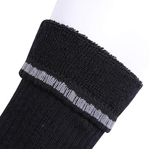 Enerwear 10P Pack Men's Cotton Moisture Wicking Extra Heavy Cushion Low Cut Socks …