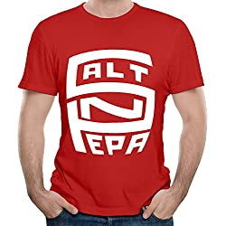 Salt N Pepa Tour Logo Men's Novelty T-Shirts