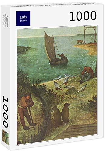 Lais Puzzle Pieter Pieter Pieter Bruegel d. Ä. - Série de peintures ressemblant à des Images, Les Proverbes hollandais 1000 Pieces B07DLDQD23 79c186