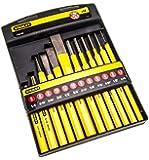 STANLEY 4-18-299 - Juego de punzones, botadores y cinceles, incluye 12 piezas
