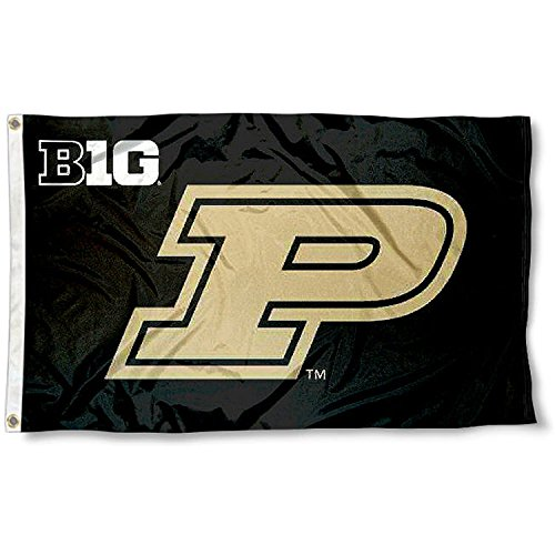 Purdue Boilermakers Big 10 3x5 Flag (Flags Ten Big)