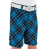 Royal & Awesome Kids Blue Plaid Bright Golf