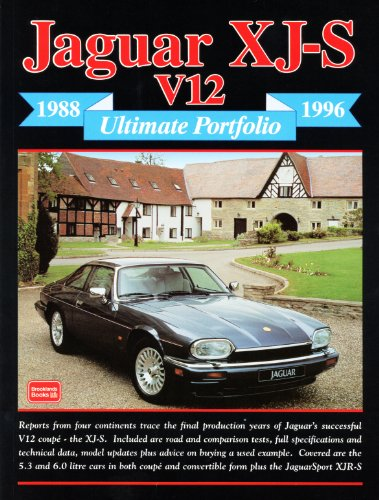 Jaguar XJS Ultimate Portfolio 1988-1996