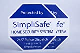Product review for 2x Yard Sign for SimpliSafe Home Security System