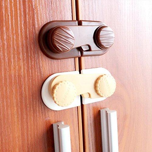 Cierres de seguridad para armario de bebé, cajón de nevera, puerta ...