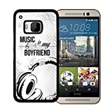 Best Nue Design Cases friends phone case - Music Is My Boyfriend Quote with Music Notes Review