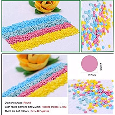 WHJKL Boy and Girl Diamond Painting Kits for Adults Fidget Spinner Kids Toys DIY 5D Christmas Gift Embroidery Pictures/Tokyo Ghoul 40x50cm: Arts, Crafts & Sewing