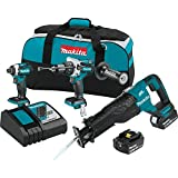 Makita XT330T 5.0 Ah 18V LXT Lithium-Ion Brushless Cordless Combo Kit (3 Piece) For Sale