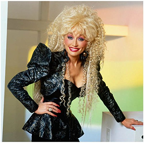 Dolly Parton 8 Inch x10 Inch Photo Singer Actress Nine to Five Steel Magnolias I Will Always Love You Shiny ()