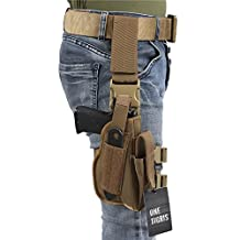 OneTigris Tactical Right Handed Leg Holster for GLOCK 17 M9 M1911 USP