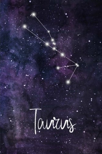 (Taurus: Constellation Journal or Notebook, Deep Space and Taurus Design, Blank Journal or Personal Notebook, 6