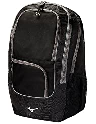 Mizuno Super Field Backpack, 21 x 11 x 9-Inch, Black