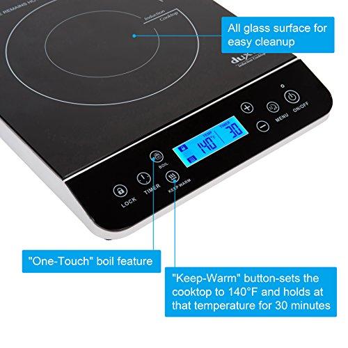 ... 1800-Watt Portable Induction Cooktop Countertop Burner 9600LS BNC