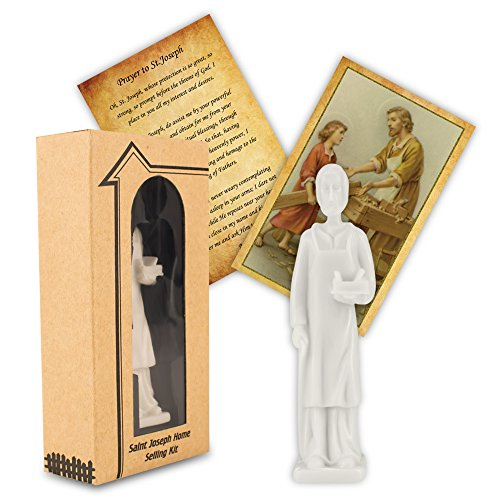 CTA Home Seller Kit,St Joseph Statue Authentic Home Selling Kit - This Kit Will Sell Your House or Home (St Joseph Prayer To Sell My House)