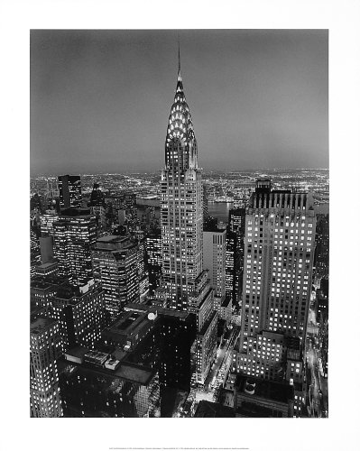 Henri Building Silberman Chrysler - Bruce Teleky Chrysler Building, New York by Henri Silberman. Photo Print Poster (16 x 20)