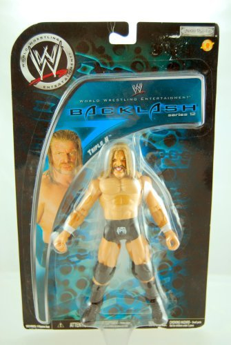 WWE - 2008 - Backlash Series 12 - Triple H - Action Figure - Limited Edition ...