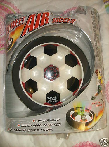 Street Air Soccer Air-Powered Toy by Virtual Video by Virtual Video