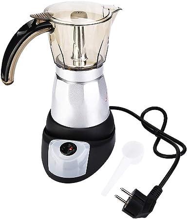 Cafetera, olla eléctrica Moka de gran capacidad, cafetera de café ...