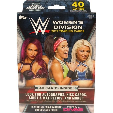 Topps Cards: 2017WWE Women's Division Trading Card Hanger Box]()