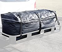 """Hitch bag - 100 % Waterproof Expandable Hitch Tray Cargo carrier bag + Storage bag 48"""" x 19"""" x 22"""" (11 Cu Ft)"""