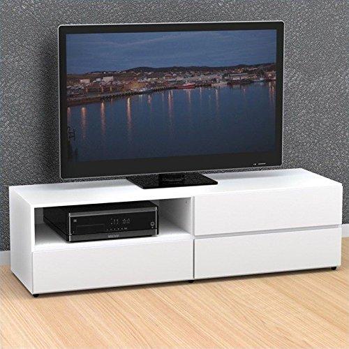 Nexera 60-inch TV Stand 223103, White