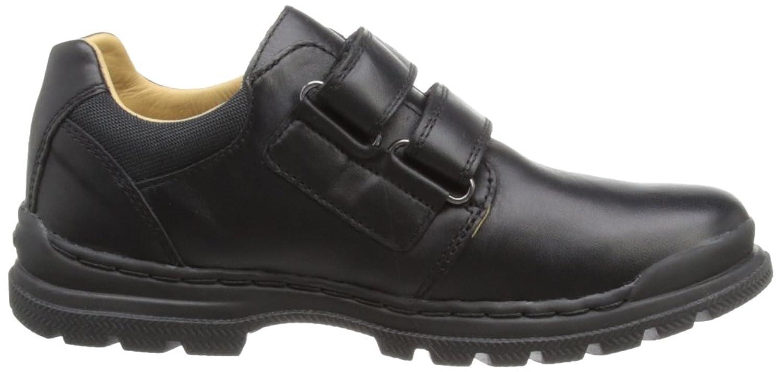Geox William A, Sneakers Basses Garçon, Black Leather, 38