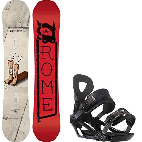 152 cm mens snowboard package - 8