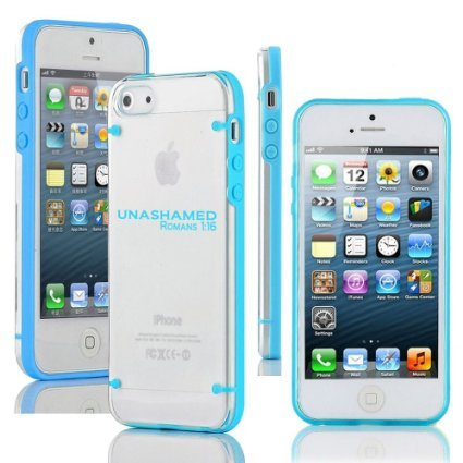 Apple iPhone 6 6s Thin Hybrid Transparent Clear Hard TPU Bumper Case...