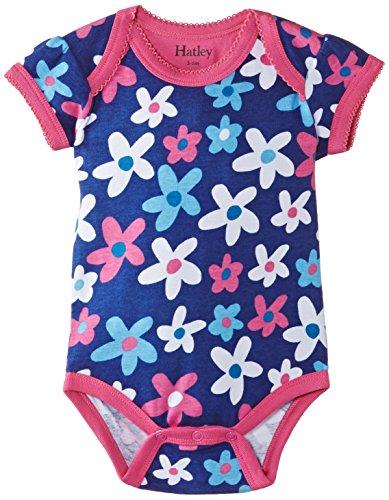 Garden Summer Hatley (Hatley - Baby Baby-Girls Newborn  One Piece-Summer Garden, Blue, 3-6 Months)