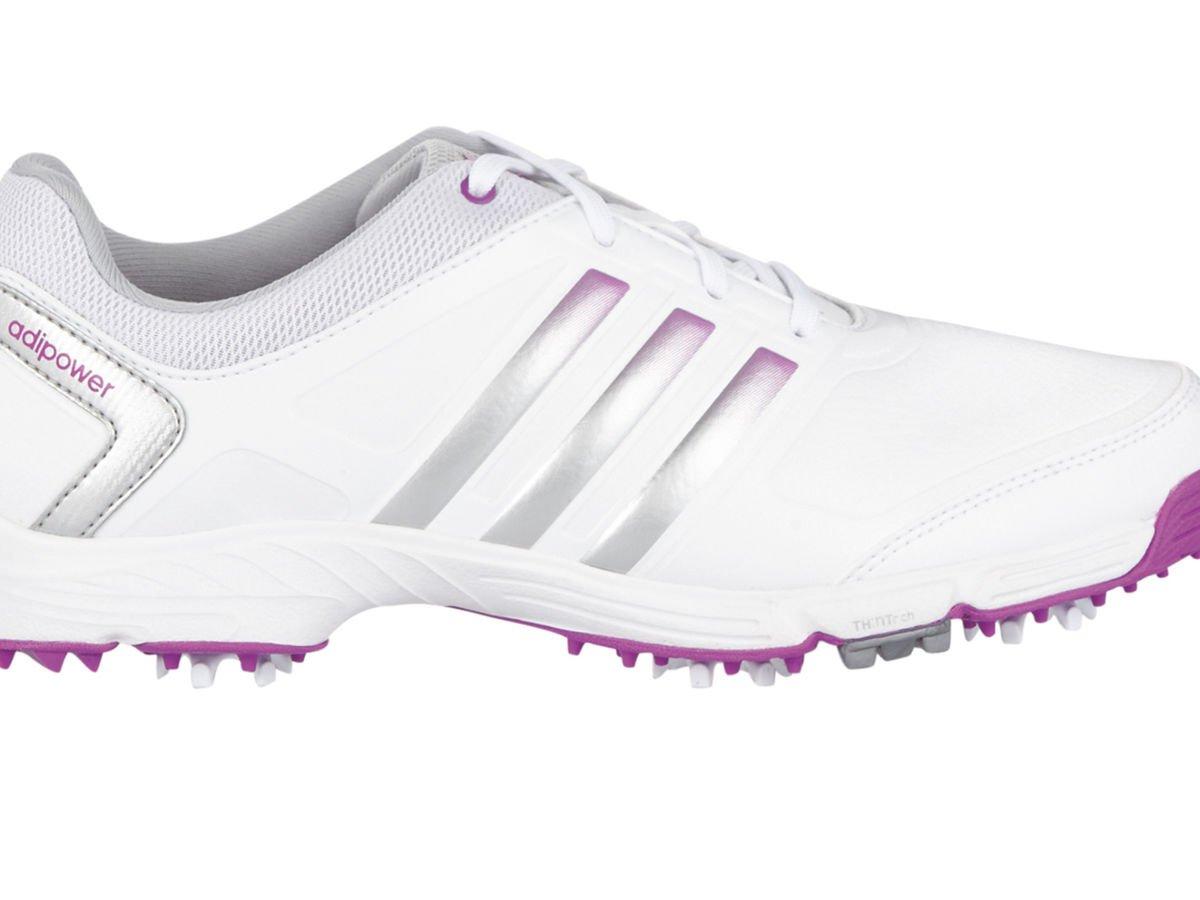 Adidas W Adipower TR Damen Schuhe - Weiss grau Rosa