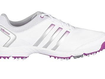 Adidas W Adipower TR Damen Schuhe - weiss/grau/rosa, standard, 8,5