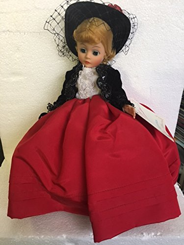 Madame Alexander Lily 1114 Red Black Portrettes Series 9