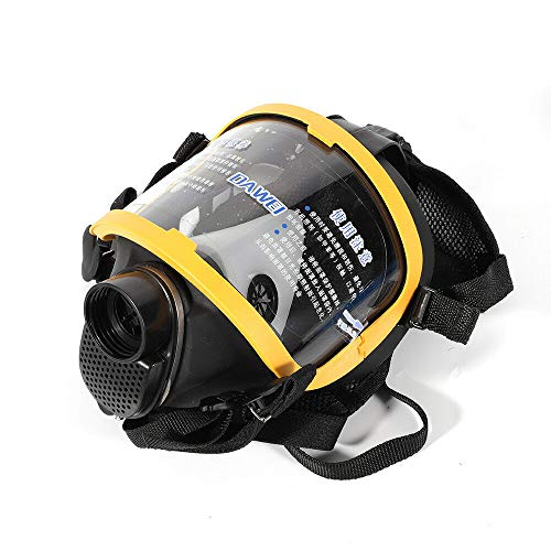 Electric Constant Flow Supplied Air Fed Full Face Gas Mask Respirator System A++